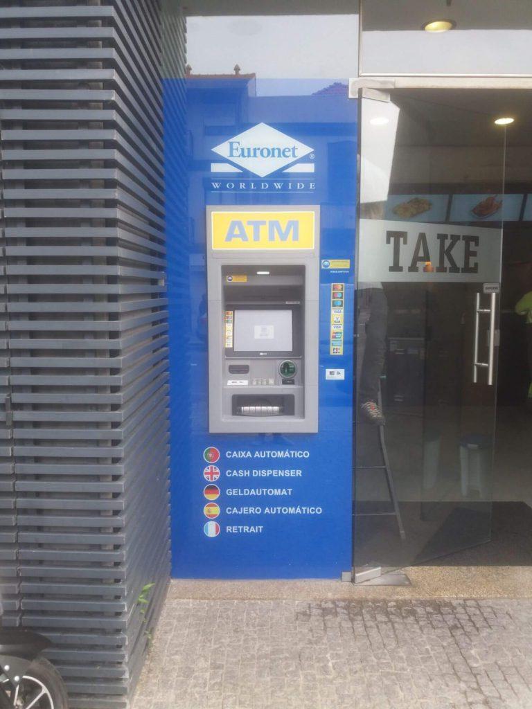 Instalação de ATM´s (Euronet)